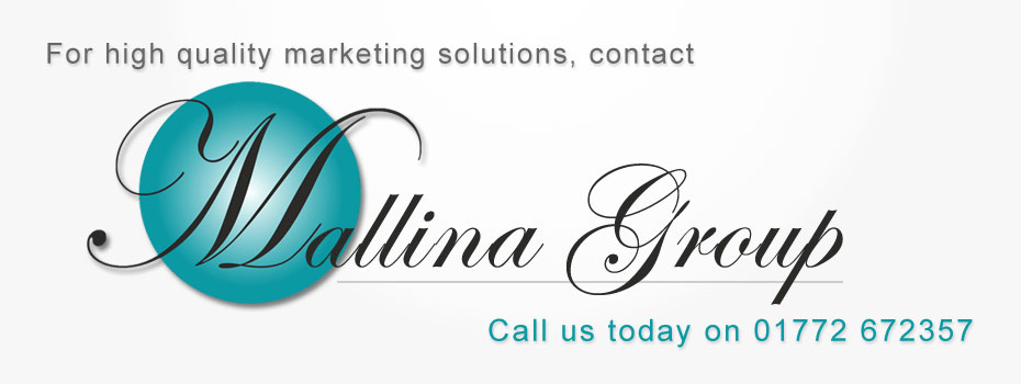Mallina high quality marketing and advertising publications